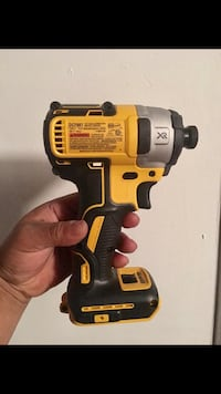 DEWALT 20-Volt MAX XR Lithium-Ion Cordless Brushless 3-Speed 1/4 in. Impact Driver (Tool-Only) New York, 10453
