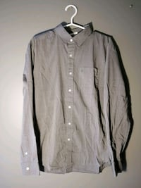 VOLCOM Stone Dress Shirt - Grey