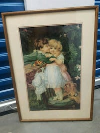 Adorable Picture in an Oak Frame! Langley, V3A 0C9
