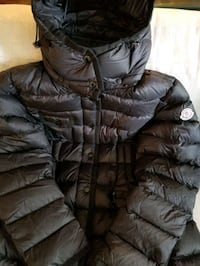 Womens Moncler Hermine Down Parka