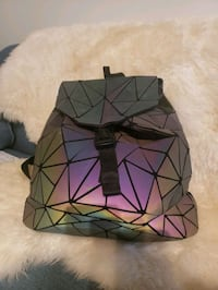 iridescent multi color small purse backpack  Surrey, V3S 0C8