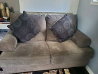 gray suede 2-seat sofa Newmarket, L3X
