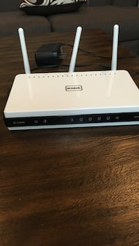 white and black D-Link wireless router Brampton, L7A 1H9