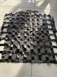 Quarintine back seat Cargo net