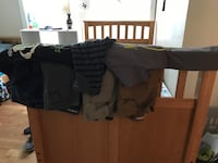 4pairs of boys jeans size 28 and 30. 3 shirts as well