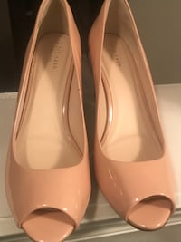 Cole Haan 'Sadie' Open Toe Wedge Pumps