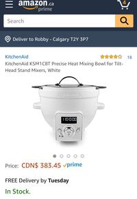 Kitchen Aid Precise Heat mxing bowl Calgary, T2Y 3P7