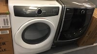 Extra large capacity front load gas dryers one is Electrolux the other is LG regular retail $799 available Thanksgiving weekend and 8415 Colerain Ave. for $399 please ask for Lilly
