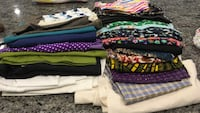 Large lot of fabric pieces Bethesda, 20816