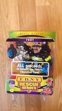 FDNY Rescue Heroes Billy Blazes figurine Johnson City, 37601