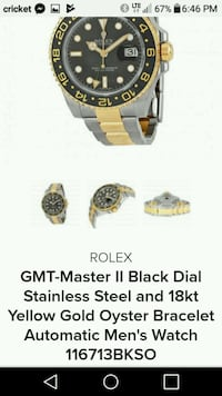 GMT-Master II black dail Tigard, 97223