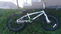 white and black BMX bike La Prairie, J5R 5C8