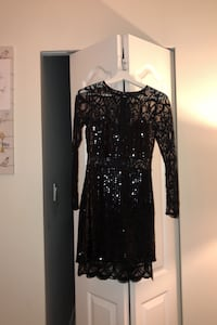 Marciano Black lace dress