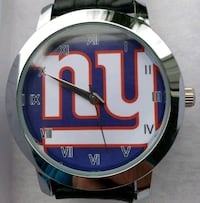 Stainless Steel New York giants Watch with leather band Baltimore, 21224