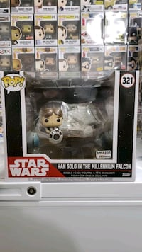 Han Solo on the Millennium Falcon! Amazon Exclusive Funko Pop! West Springfield, 22152