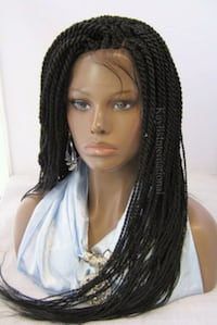 FULLY HAND BRAIDED LACE WIGS Catonsville, 21228