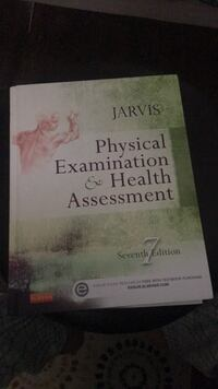 Nursing textbook Physical Examination and Health Assessment Jarvis