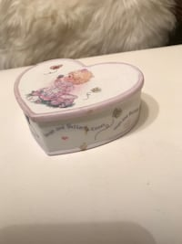 Precious moments trinket box