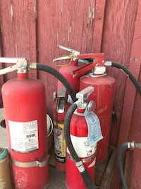 Empty fire extinguishers  Fresno, 93737