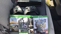 Xbox One console with controller and game cases Clifton, 07011