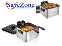 New- Hamilton Beach Double Basket Deep Fryer with Extra Basket 4.5 L Capacity Mississauga