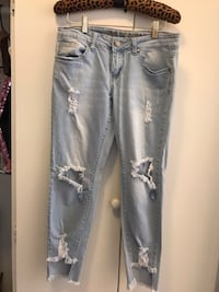 VIP Distressed Jeans