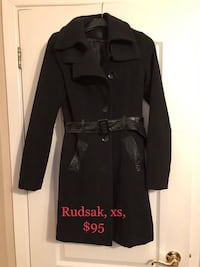 Rudsak wool jacket with leather  Montreal, H1R 1R3
