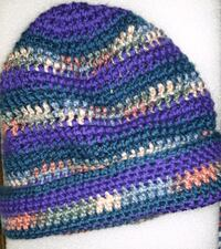 Colorful Slouchy Beanie by Me!!! Las Vegas, 89120