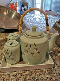 Cermaic tea set