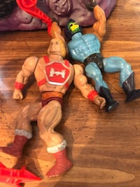 He man 1984 snake mountain and spider Neptune, 07753