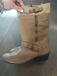 New ~ authentic guess leather boots ~ women's 10 ~ retail $240+ Surrey, V4N 6A2