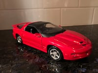 Firebird red diecast 1/24