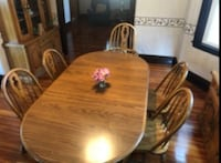 Wooden Dining Room Table and Chairs Wakefield, 01880