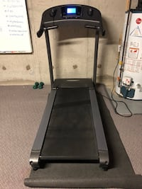 Black and gray automatic Vision Fitness treadmill Mississauga, L5W 1R3