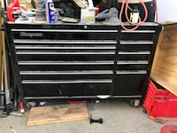 black Snap-On tool chest Costa Mesa, 92627