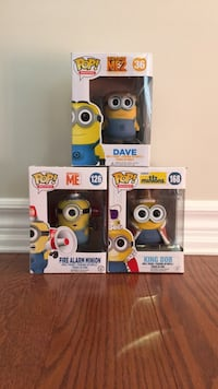 Funko pop ( despicable me minions collection) Barrie, L4N 0Y9
