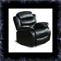 Black recliner chair Prince George's County