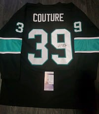 San Jose Sharks Signed Logan Couture Hockey Jersey Edmonton, T5G 2N9