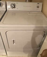 White front load dryer - whirlpool