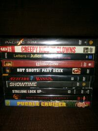 10 DVDS... 5 Never Opened Great Titles Virginia Beach, 23454