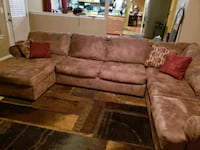 3 piece sectional right arm chaise 529 mi