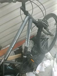 black and gray hardtail mountain bike Silver Spring, 20904