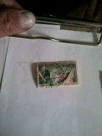 $65 Francaise postage stamp Los Angeles, 90021