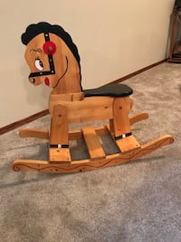 Wooden rocking horse for kids, mint condition ! Grande Prairie, T8V 6M2