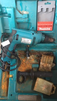 blue and black Makita corded power drill Pittsburgh