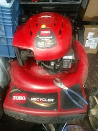 red and black Toro push mower Youngstown, 44512