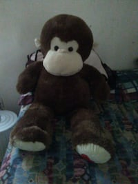 brown and white monkey plush toy Lubbock, 79412