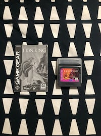 Lion King Sega Game Gear  Brantford, N3V