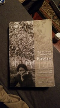 The Broadview Anthology of Poetry book Vancouver, V6P 4J3