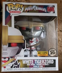 White tigerzord, funko pop Bakersfield, 93304